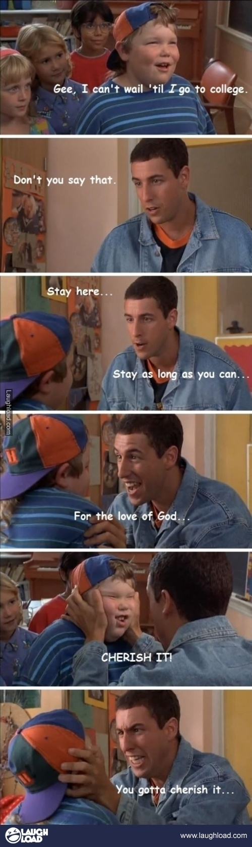 "Best advice ever!! ""Stay here! Stay as long as you can!!!"""