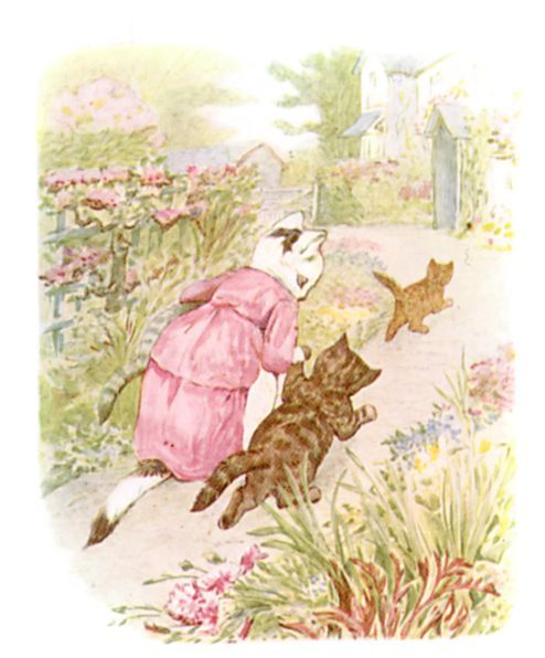 Beatrix Potter - illustration from The Tale of Tom Kitten