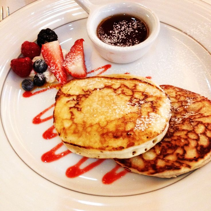 Lovely pancakes breakfast at The Grange Tower Bridge hotel London