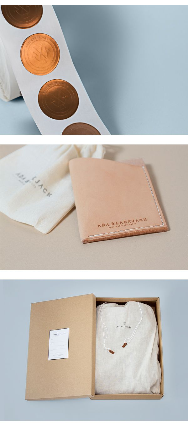 Ada Blackjack - Brand Identity by Tobias van Schneider, via Behance