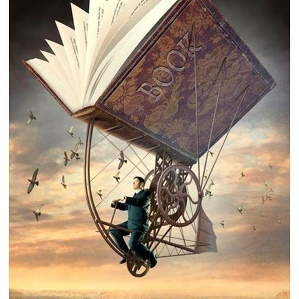 """Never #trust anyone who has not brought a #book with them."" ― Lemony Snicket ❇  Igor Morski  #surrealart #popsurrealart #surrealartist #surrealartwork #surrealism #art #artwork #education #books #freedom #thought #think #knowledge #artstagram #artlovers #artistsofinstagram #originalart"