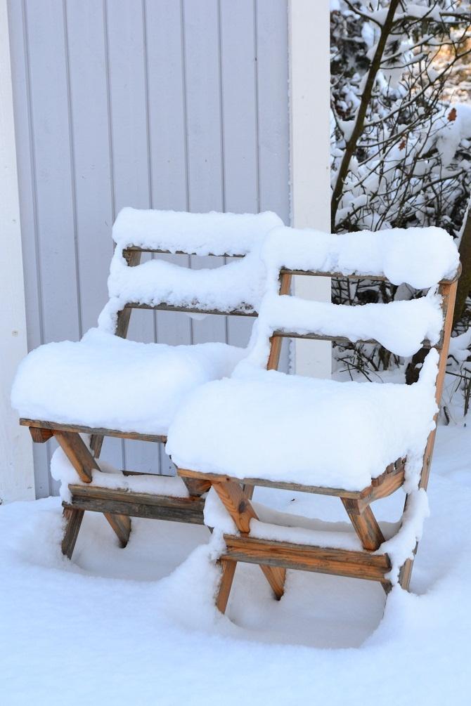 Forzen chairs