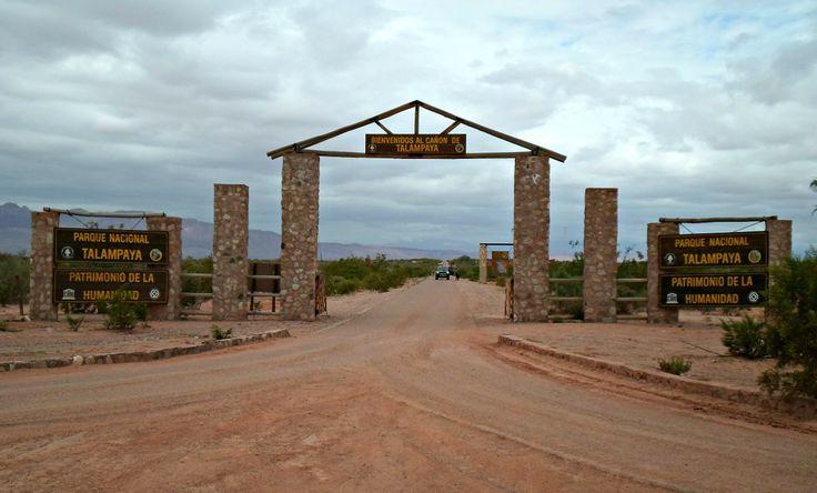 Parque Nacional Talampaya. Patrimonio natural de la Humanidad. Cañón de Talampaya.