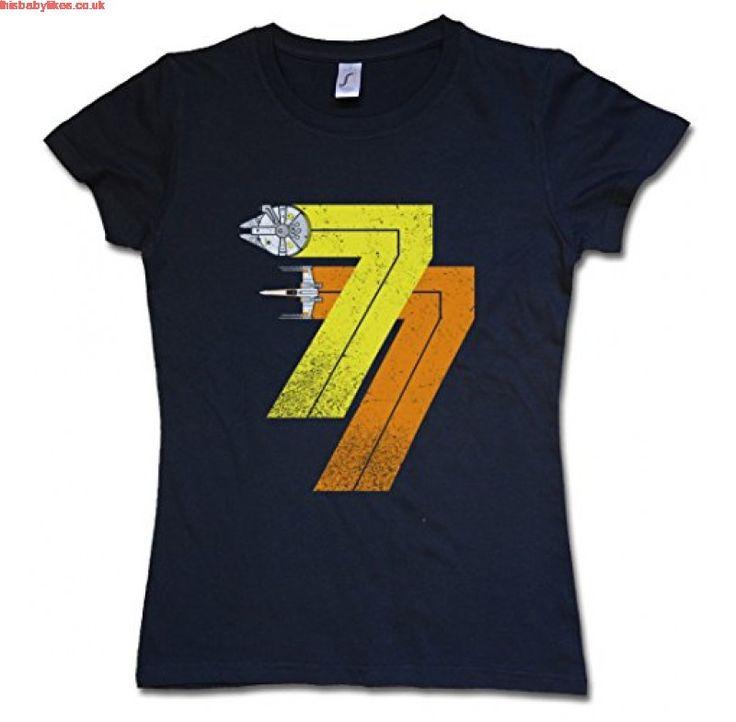 VINTAGE REBEL BORN 77 WOMAN GIRLIE T SHIRT Star Millenium Dart Year 1977