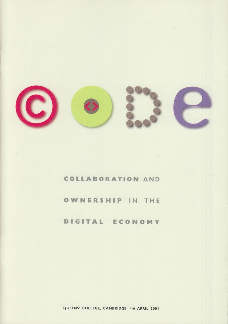 Neural [Archive] CODE - Collaboration and ownership in the digital economy edited by John Howkins Arts Council of England and Academia Europaea http://archive.neural.it/init/default/show/2496