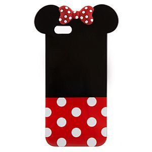 CUTE!!!  Disney Minnie Mouse Icon iPhone 6 Case | Disney StoreMinnie Mouse Icon iPhone 6 Case - You'll have an extra set of ears on all your calls with this Minnie-shaped clip case for iPhone 6. Iconic mouse features form a contemporary art view of our leading lady.