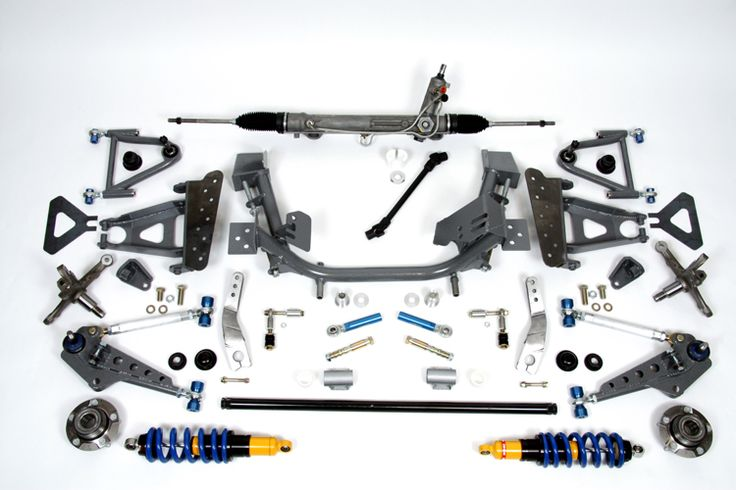 GR350 Front Suspension - w/289,302,351,390,429,460 Engines, Road Race Performance ('67-'70)