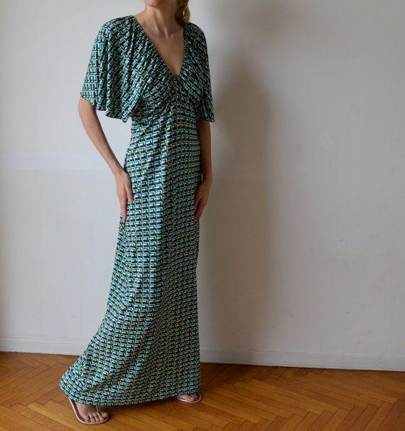 Pina dress varition. Make maxi length and leave elastic off the sleeves