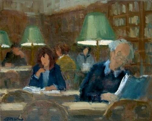 """""""Studeren"""", 2009. Malie Baehr, Netherlands."""