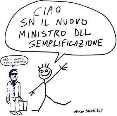Fumetti Scandalosi: Mn dll semplific. Ecco come potrebbe essere un #ministro serio.