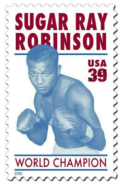 2006 Sugar Ray Robinson 39 cents stamp