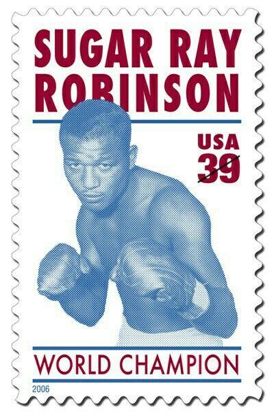 2006 Sugar Ray Robinson 39 cents stamp