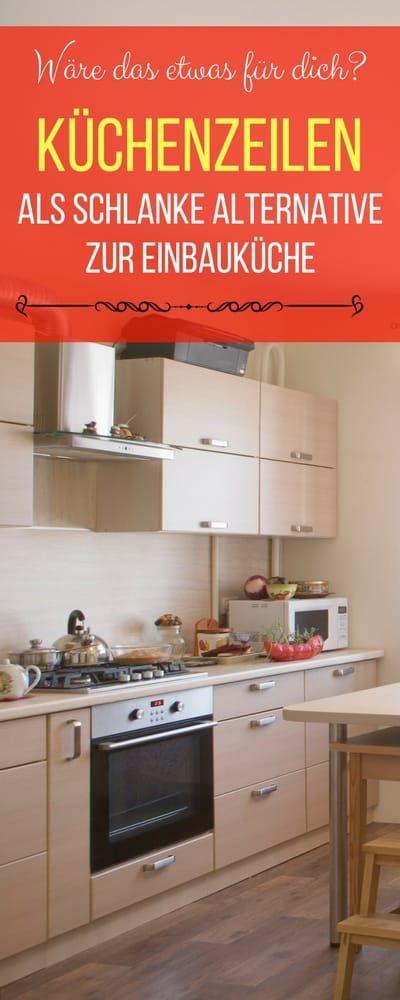 Küchenzeilen als schlanke Alternative zur Einbauküche | Haushaltsfee.org