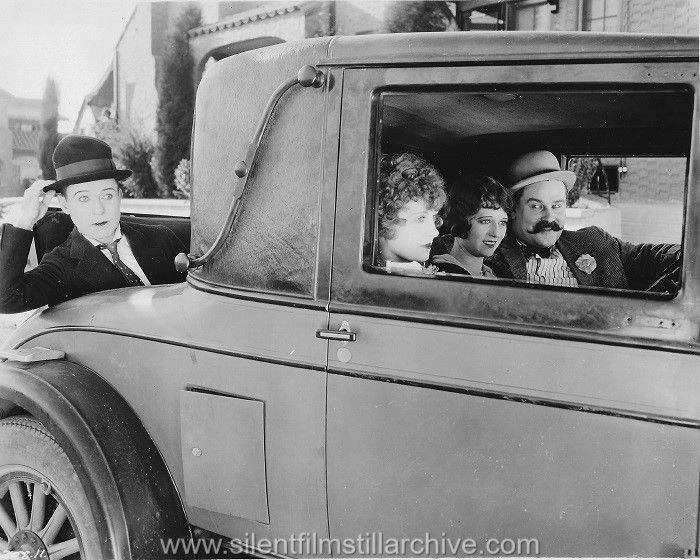 Harry Langdon, Ruth Hiatt, Peggy Montgomery and Vernon Dent in ...