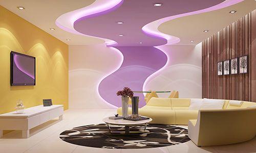 Потолок из гипсокартона в зале: вдохновляющие идеи ремонта гостиной
