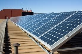 Solar power is the most readily available source of energy. There are solar panels that harness the solar energy to generate electricity.