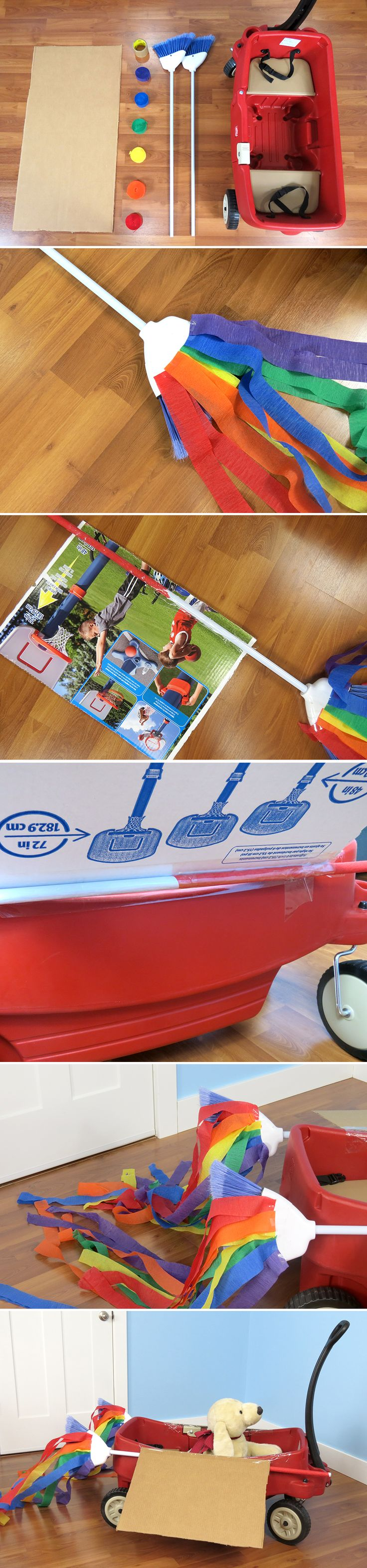 Create Your Own Rocket Ship from a Step2 Wagon - Inspired by the Inside Out character Bing Bong