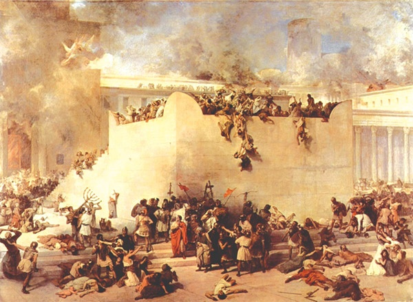 La destruction du Temple de Jerusalem - Francesco Hayez