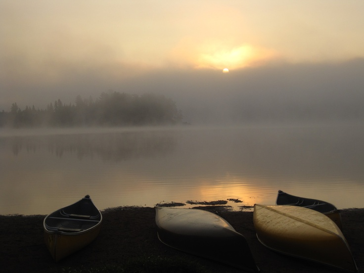 Morning Mist - Lake of Two Rivers - Algonquin 2012
