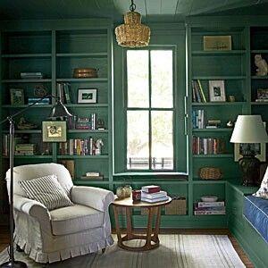 Farrow  Ball's Green Smoke paint