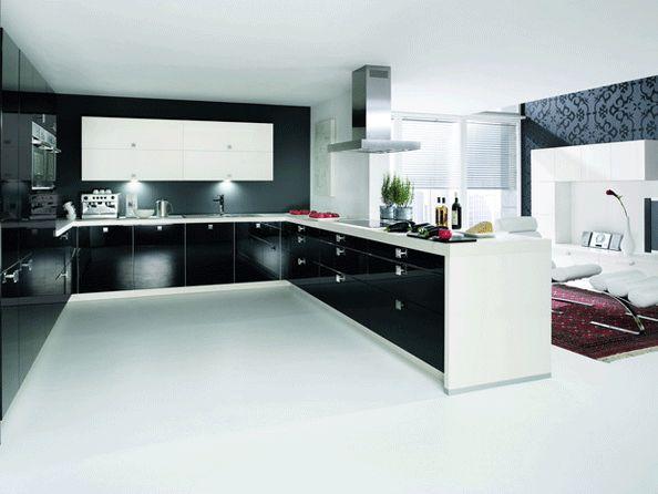 Siyah-Beyaz Mutfaklar