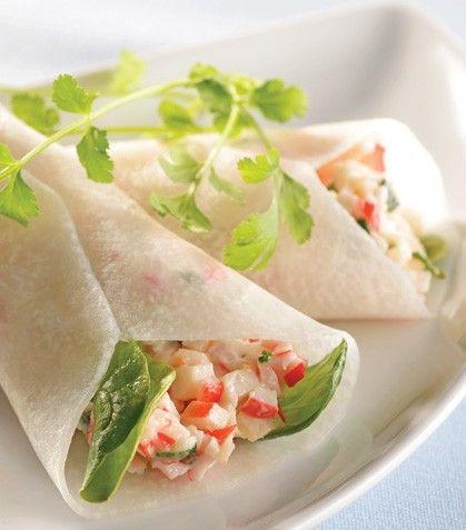 """Prepara unos frescos, nutritivos y deliciosos """"Conitos de jícama con surimi"""""""