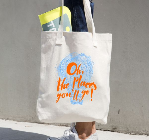 Oh, the Places You'll Go! - Tote