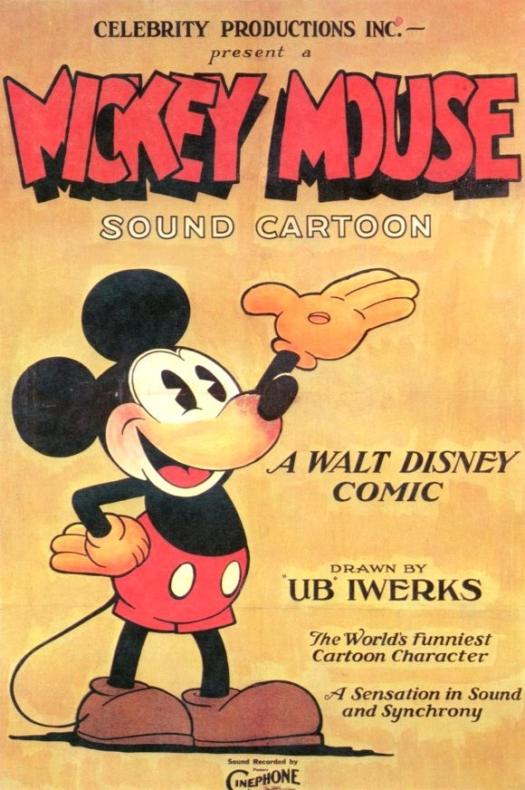 First mickey mouse movie with sound