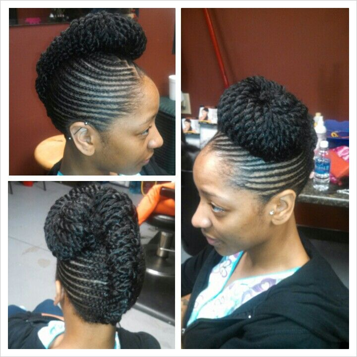 Incredible 1000 Images About Cornrow Hawk On Pinterest Cornrows Short Hairstyles Gunalazisus