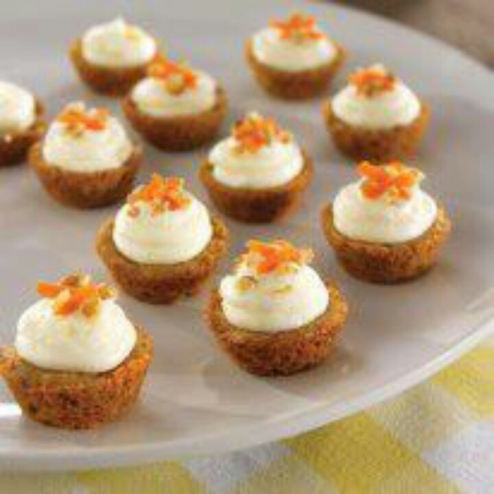 Mini Carrot Cakes Pampered Chef