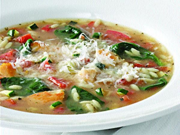 Vegetable Lovers Chicken Soup | KitchenDaily.com Classic comfort food ...