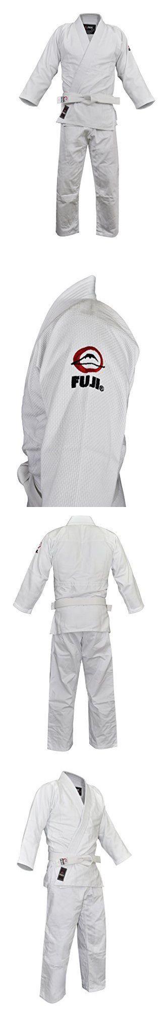 Jackets 179771: Fuji Judo Uniform White 4 Mens Martial Arts Uniform Jacket, New -> BUY IT NOW ONLY: $62.05 on eBay!
