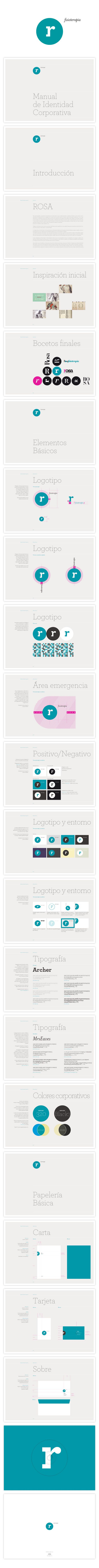 Logo and Corporate guidelines on Behance