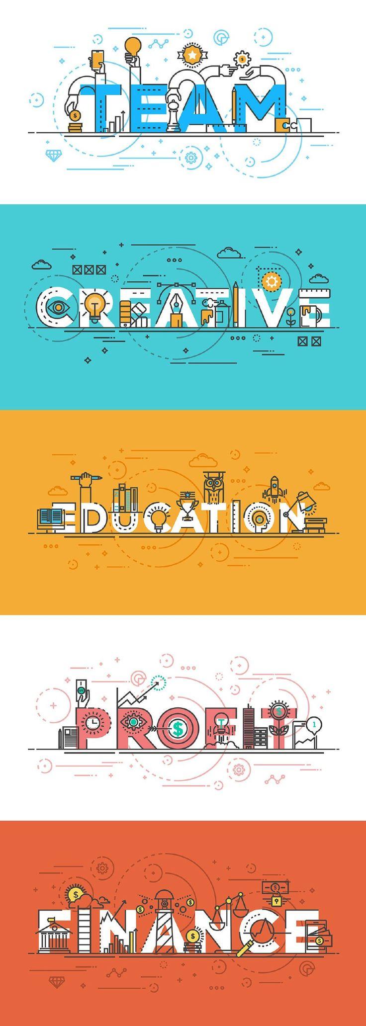 【每日灵感!200个超酷扁平插画 Banner】不知道如何利用图形去构建一些想法,或者想制作不一样的 Banner,这200个 Banner 或许可以帮到你,点击大图可以看清设计师是如何利用图形的组合来传达信息的,简直不能再赞了。[Daily inspiration! 200 Cool Flat Banner illustration] OF PureSolution design, Darko Vujic http://m.weibo.cn/1773655610/DxPkgpHaE