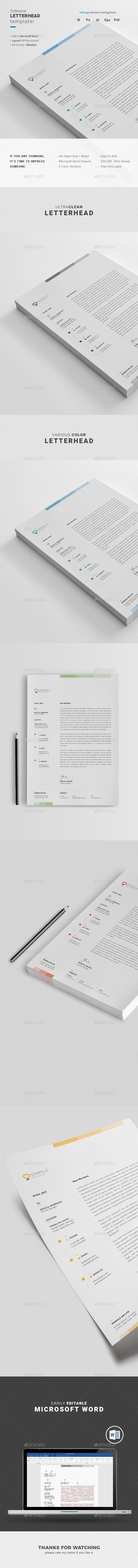 Free Microsoft Word Letterhead Templates Glamorous 47 Best Letterhead Images On Pinterest  Design Patterns Design .