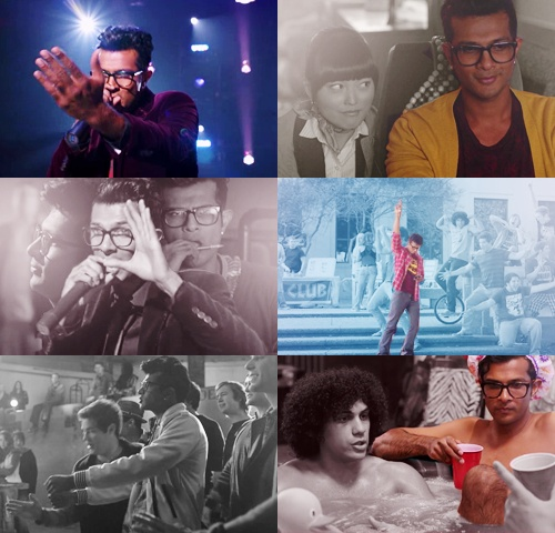 Utkarsh Ambudkar, Pitch Perfect.  Seriously, nerd boy with a voice.  I'd like one.  And those glasses.