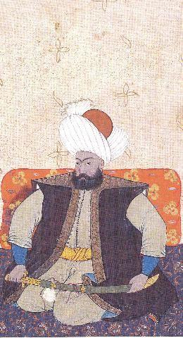 Osmangazi From Kebir Musavver Silsilename By Levni
