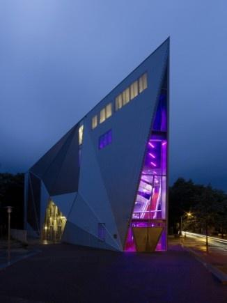 Poppodium De Vorstin  Architect: De Architecten Cie