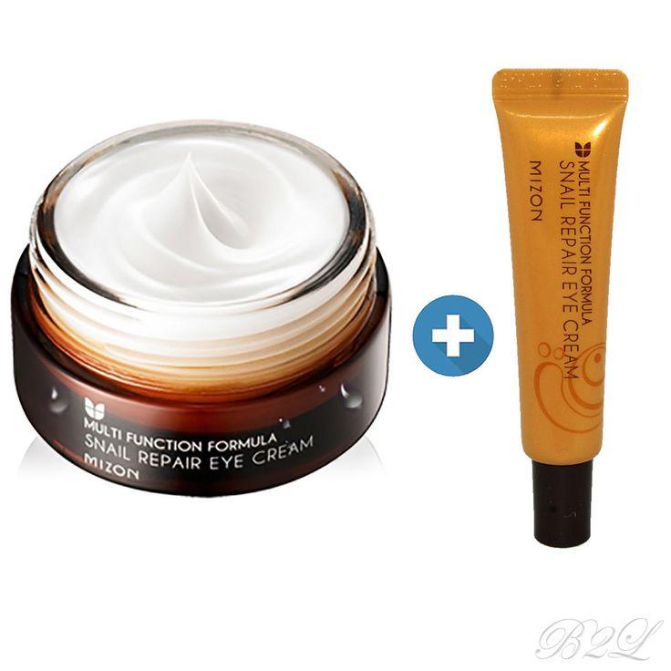 [MIZON] Snail Repairing Eye Cream 25ml + 15ml /Containing of Snail filtrate 80% #MIZON