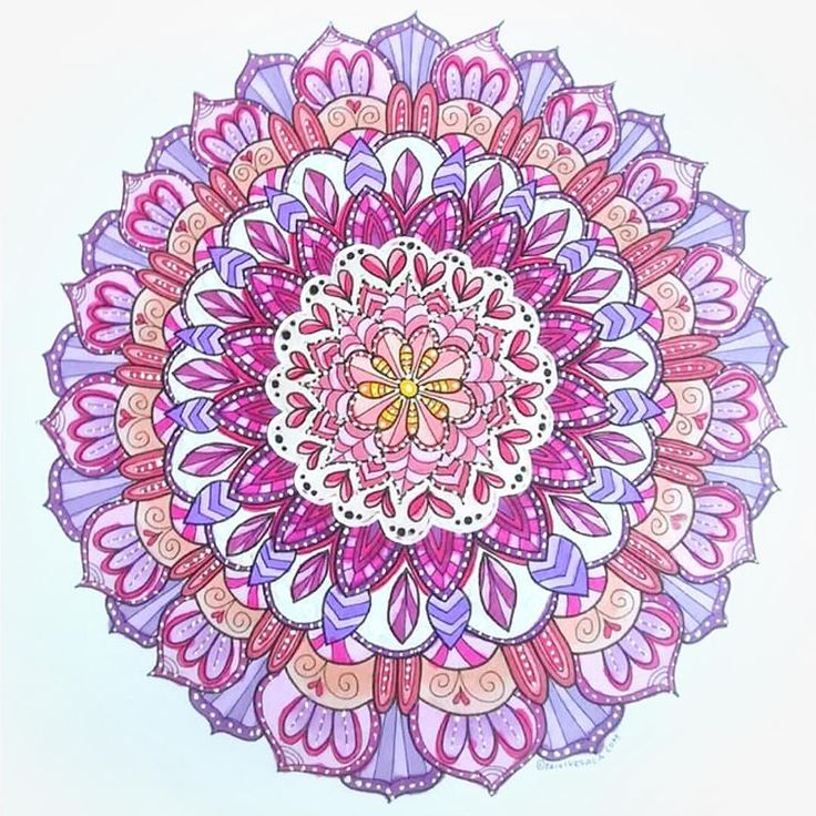 "Mental Images Coloring Books (@paivivesala_art) on Instagram: ""Coloring mandalas is so great! Meditative, creative and fun and the result is beautiful. *…"""