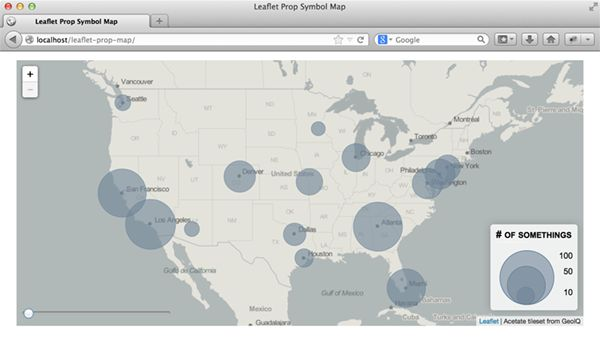 Tutorial how to make time slider interactive visualization with leaflet.js