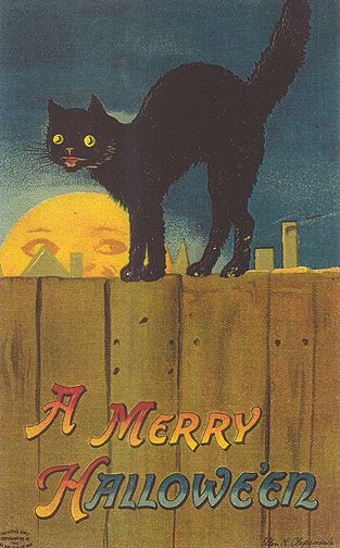 Vintage Holiday Images & Cards: Vintage Halloween Card Illustrations