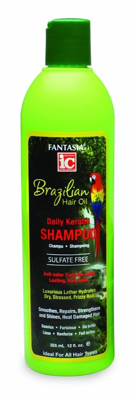 Fantasia IC Brazilian Keratin Shampoo 12 Ounce