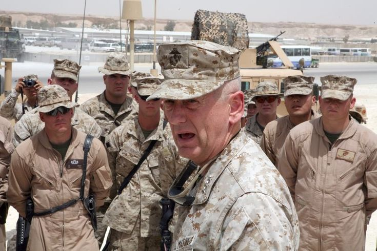 """""""Be polite, be professional, but have a plan to kill everybody you meet."""" - Marine General James """"Mad Dog"""" Mattis"""