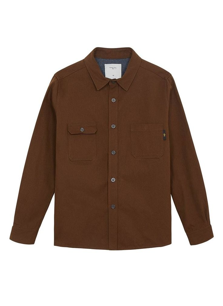 Military Overshirt | Army Twill