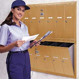 Apartment mailboxes, USPS approved mailboxes