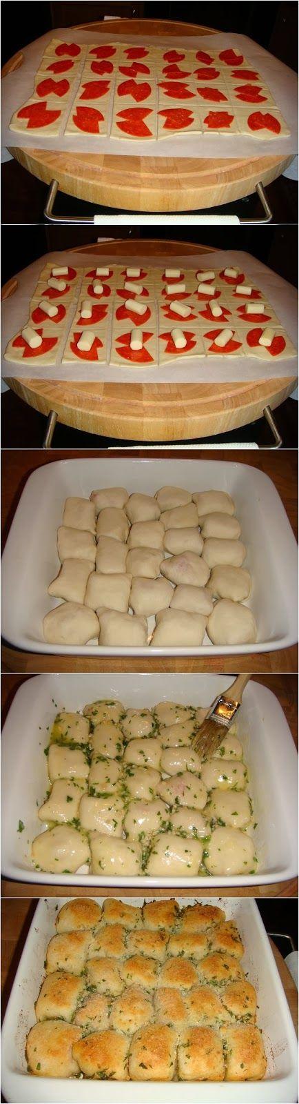 Yummy Recipes: Stuffed Pizza Rolls recipe