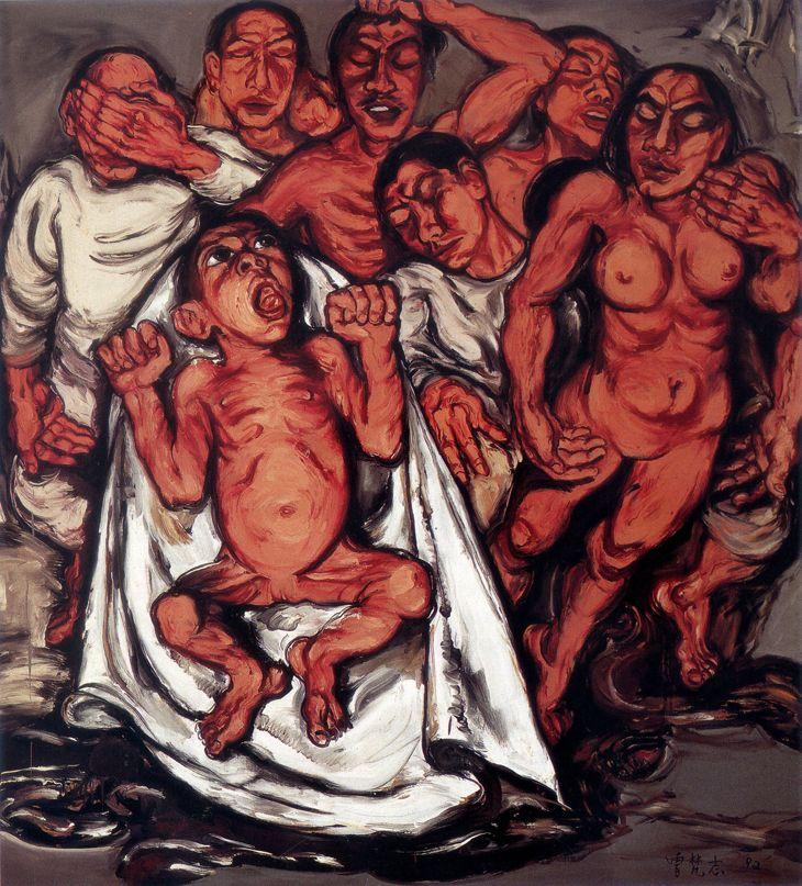 Zeng Fanzhi - Meat No.3, 1992
