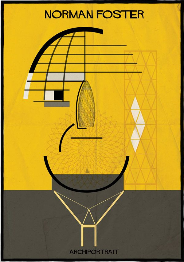"""Archiportrait"" by Federico Babina: Norman Foster"