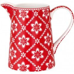 GreenGate Jug - Luna Red - 1 liter